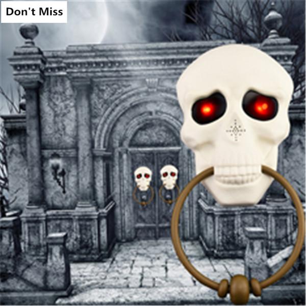 Ürpertici İskelet Cadılar Bayramı Dekorasyon Dikmeler Perili Ev Şeytan Korku Cad Byr Kapı Bar Cadılar Bayramı Partisi Malzemeleri Kaçış