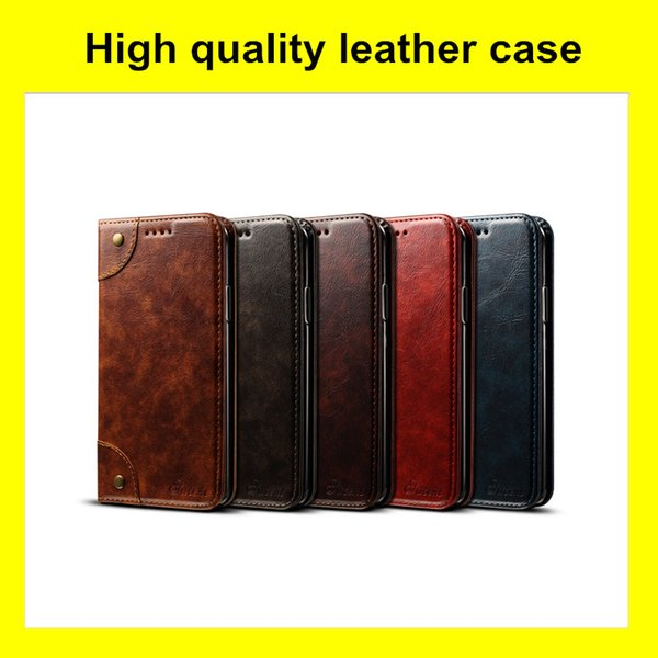 Wallet Clamshell Leather Phone Cases For iPhone XR XS MAX 8 7 6 6S Plus High Quality Newest Arrival Cellphone Shell Case
