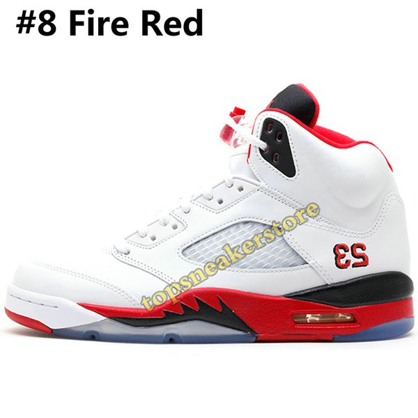 #8 Fire Red