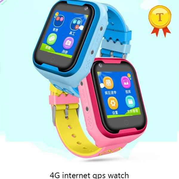 New camera Smart watch 4g gps wifi Kid SmartWatch Anti Lost Baby Watch for Children SOS Call Location Finder Locator Tracker