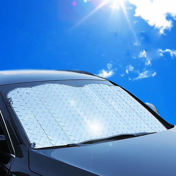 New Car Covers finestra Parasole Auto anteriore del parabrezza copertina Sun Reflective Ombra per SUV e auto ordinario Facile Foloded Due Dimensioni