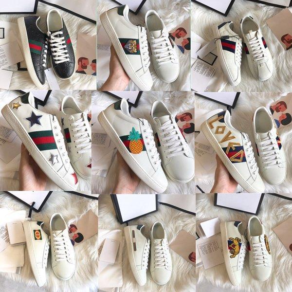 Moda designer de luxo mulheres tênis sapatos Designer Mulheres sapatos casuais verão 2019 mens calçados esportivos com caixa