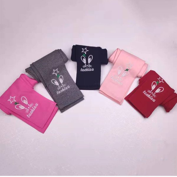 New spring and autumn cotton Baby tights Children's leggings Pants for girl
