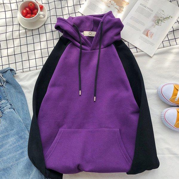noir mélangé violet