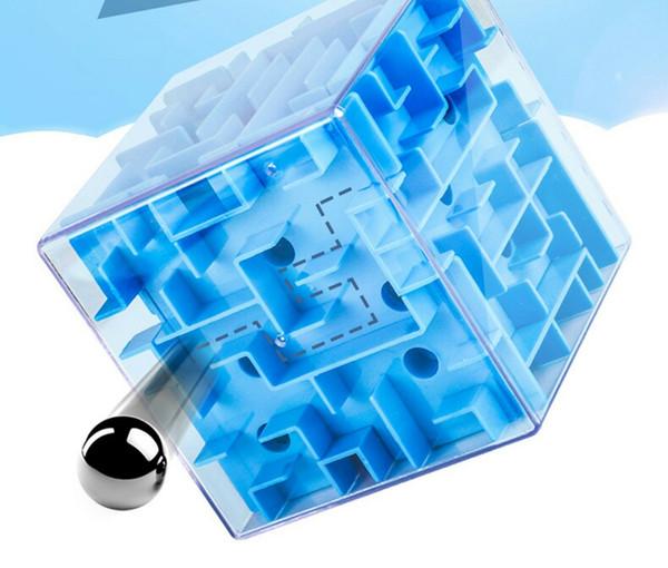 Cube Jouets éducatifs Maze 3D Rubik Maze balle Chongguan Jeux Puzzle Enfants étudiants Giveaways