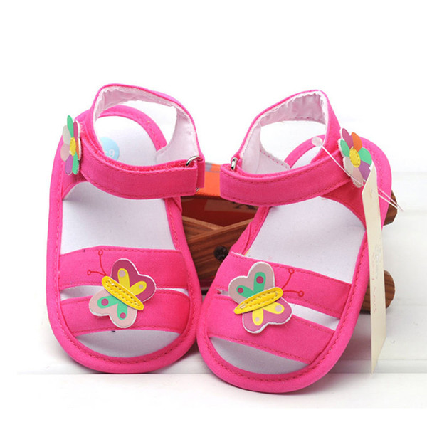 butterfly newborn baby sandals baby girls boys nonslip soft soled casual summer breathable sandals for 6-18m