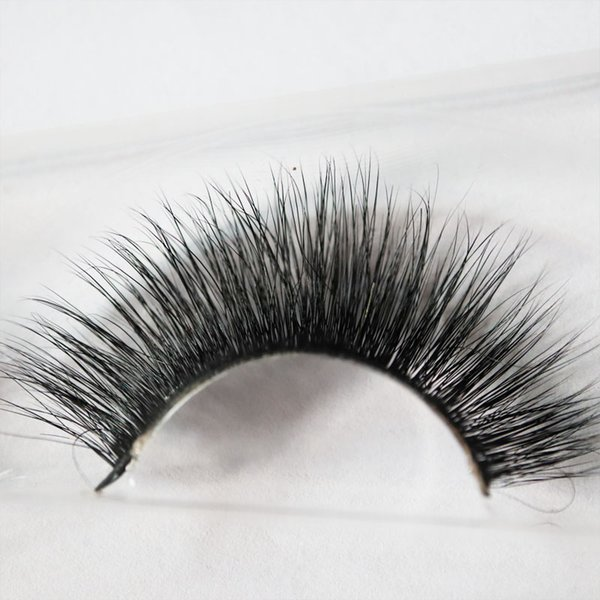 ACOFUL 3D Mink False Eyelashes Extensions Classic Collection Upper Lashes Natural Soft Mink Lashes 1 Pair/Box