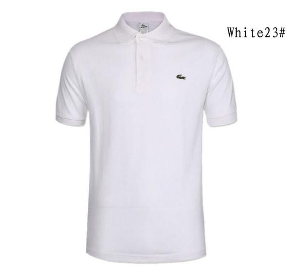 Polo Shirt Hommes Casual Manches Courtes Polo Shirts Camisa Masculina Homme Camisetas Grande Taille 3XL Mens Polos Camiseta