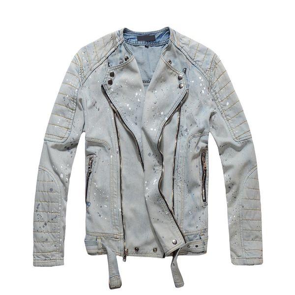 Giacca da uomo di design di lusso Mens Giacca di alta qualità con cerniera afflitta Moda Uomo Cappotto Hip Hop Taglia M-4XL