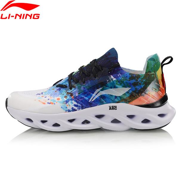 Homens LN ARC Almofada Running Shoes Mono Fio Respirável LiNing Wearable Suporte Estável Calçados Esportivos Tênis ARHP073 SJAS19