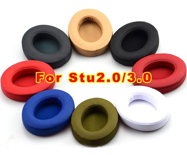 Hot Top high quality Replacement Ear pad Earpads cushions cover For Stu-dio 2.0 3.0 wireless Headphone by DHL