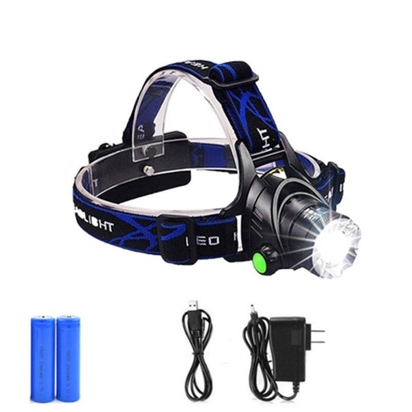 Bicycle T6 Torch Lamp Rechargeable 18650 Battery Flashlight Super Bright Camp