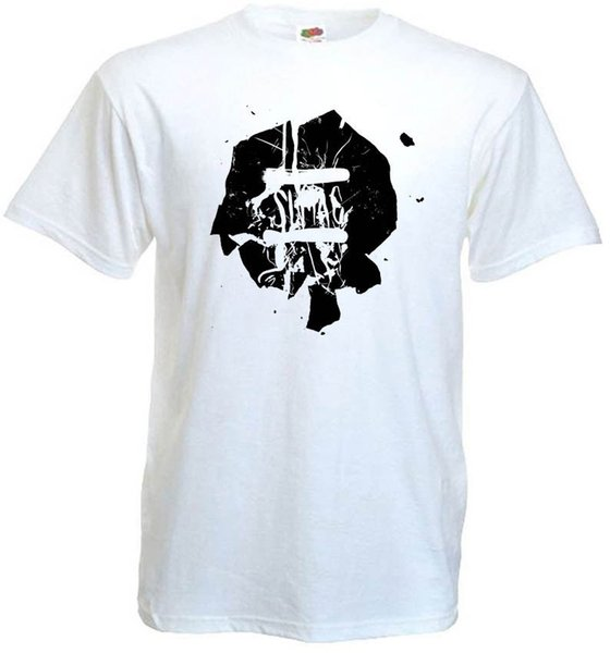 Sumac v7 WFMU T-shirt branco lodo / doom metal todos os tamanhos S-5XLFunny frete grátis Unisex Casual Tshirt top