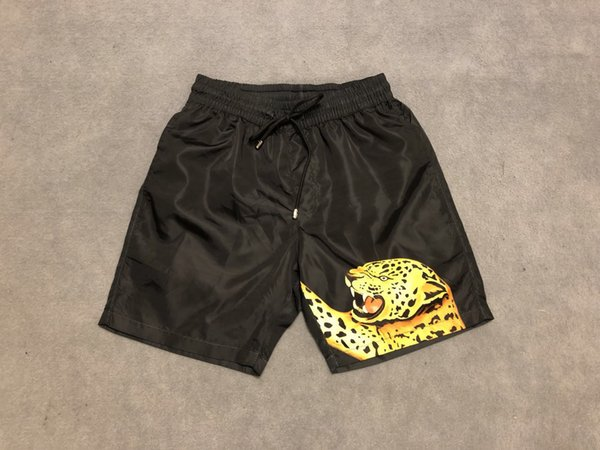 mens designer Shorts Luxury fashion Medusa paris leopard print Women Clothes jumper short Elastic Waist shirts red black 19ss