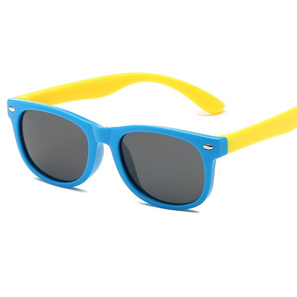 Hot Polarized Kids Sunglasses Boys Girls Baby Infant Fashion Sun Glasses UV400 Eyewear Child Shades Gafas Infantil