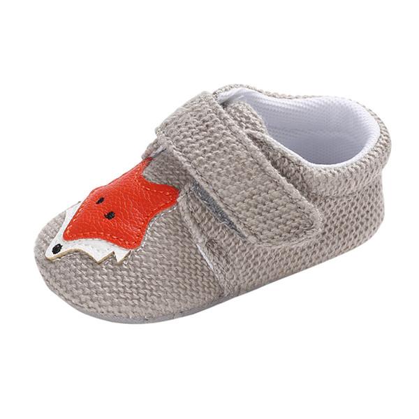 MUQGEW Baby Girls Boys Shoes Animal Decorative Soft Bottom Sandals Hook & Loop Shoes Non-Slip Baby sandalia infantil #S294
