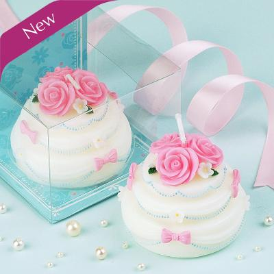 Baby boy girl Adult Birthday candle gift box packing lovely cake Candle Adorable Party Cake Topper Baby Shower Favors #471