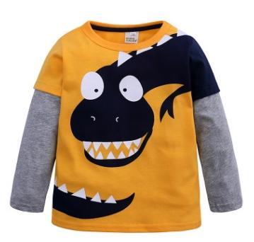 #1 cartoon dinosaur boys shirts