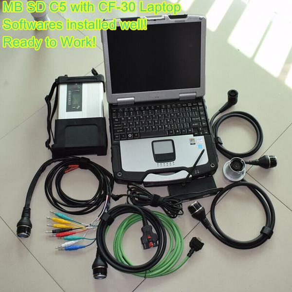 mb star c5 com laptop cf-30