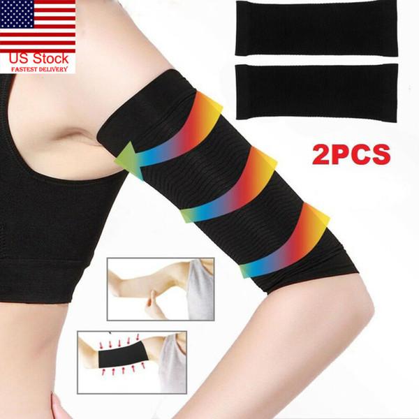 1 Paar Frauen Abnehmen Arm-Former-Gewicht-Verlust Cellulite Fat Burner-Verpackungs-Gurt
