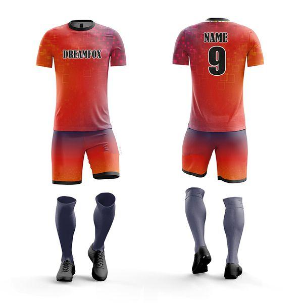 Vêtements en gros Soccer Jersey 2020 Enfants Maillots Maillots Blank Soccer Football Jersey Avec Grand Prix