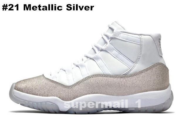 # 21 de prata metálico