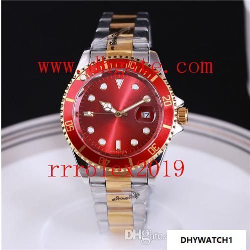 Rrrolex2019 Top-Marke Luxusuhr Männer Designer Damenuhren Großhandel hochwertige Herren und Damen Kleid Armband Gold Uhr Reloj Mujer