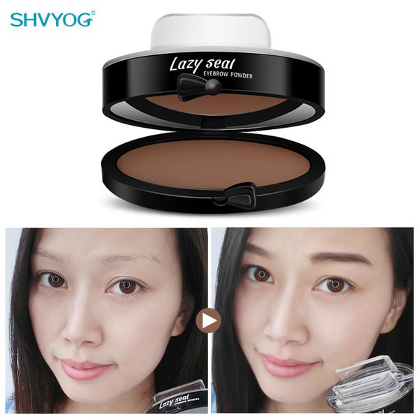 Su geçirmez Kaş Damga Hızlı Kaş-Damga Araçları Bulaşmaya Dayanıklı Mühür Makyaj Aracı 6G Kore Kozmetik Doğal Göz Kaş Dövme