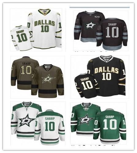 100% authentic d5ea0 892c9 2019 2018 Top Can Dallas Stars Jerseys #10 Patrick Sharp Jerseys  Men#WOMEN#YOUTH#Men'S Baseball Jersey Majestic Stitched Professional  Sportswear From ...