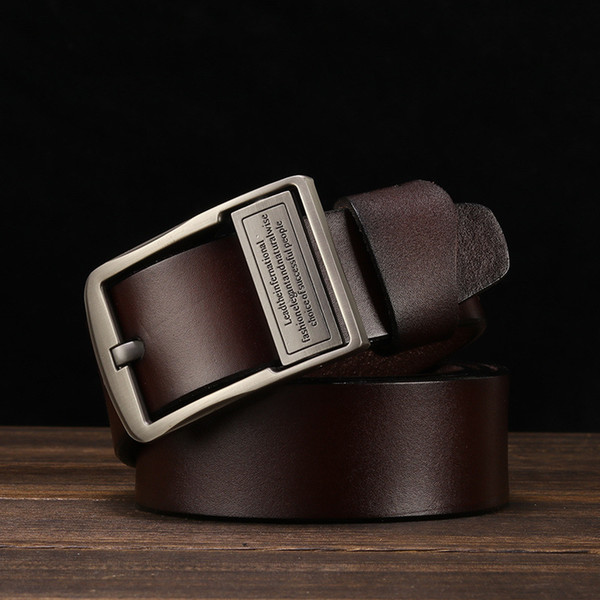 Manufacturers selling hot style restoring ancient ways men's leather belt leather belt pure leather belt a male money undertakes