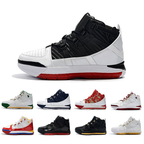 NOUVEAUTÉ Fresh Bred Equality Away SuperBron James rouge Noir Remix Chaussures Homme Baskets Oreo Martin Noir Or