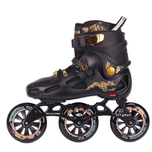 2019 Inline Speed Skates Shoes Hockey Roller Skates Sneakers Rollers Women Men Roller For Adults Inline Professional From Yangmeijune, $185.86  