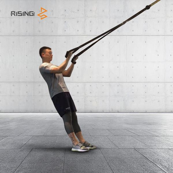 Fasce di resistenza Crossfit Equipaggiamento Resistenza Appeso Cinghia da allenamento Fitness Esercizio Allenamento Sospensione Trainer Belt