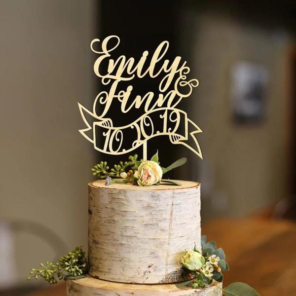kişiselleştirilmiş adı, gelin duş, altın kek topper, düğün pastası topper, özel harfleri hat topper