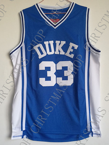 Cheap wholesale Grant Hill Jersey 33 Duke Stitched Basketball Jersey Customize any name number MEN WOMEN YOUTH basketball jersey
