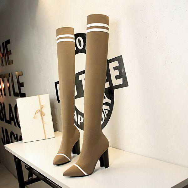 над сапогами сексуальные сапоги cuissardes сексуальные talons hauts сексуальные ботинки haute женщина zapatos de mujer chaussures