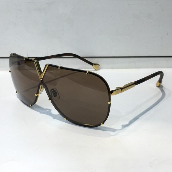 ed9e07a5b3 Louis Vuitton LV Z0926E Más nuevo Círculo negro Gafas de sol Dama Diseñador  Gafas de sol