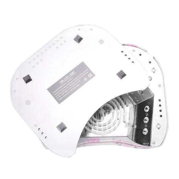 Yüksek Kalite LED UV Lambası Nail Art Jel Kür Tırnak Kurutucu 48 W CCFL Nail Art Araçları lampara uv Güzellik aracı