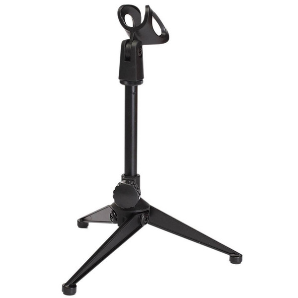 Microphone holder Microphone Stand Table stand microphone Mic table lightweight compact tripod design Stand holder with clamp