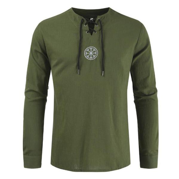 verde camiseta