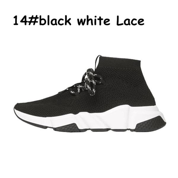 A14 black white lace