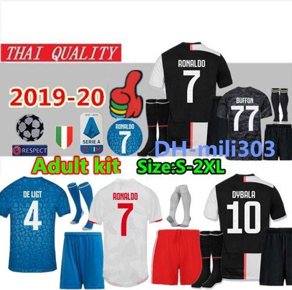 Maglia da calcio Juventus 2019 2020 DYBALA BERNARDESCHI MANDZUKIC D. Costa 19 20 Maglia da calcio RONALDO