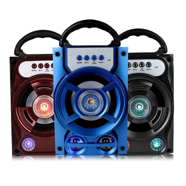 B16 taşınabilir açık bluetooth hoparlör taşınabilir ses kartı takabilirsiniz U disk bilgisayar subwoofer şarj edilebilir taşınabilir ücretsiz kargo
