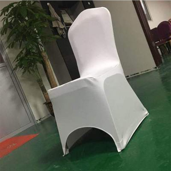 Thickened Stretch Chair Cover Hotel Banquet Meeting Hotel Conjoined Wedding Chair Cover Seat Cover Solid Color Customized
