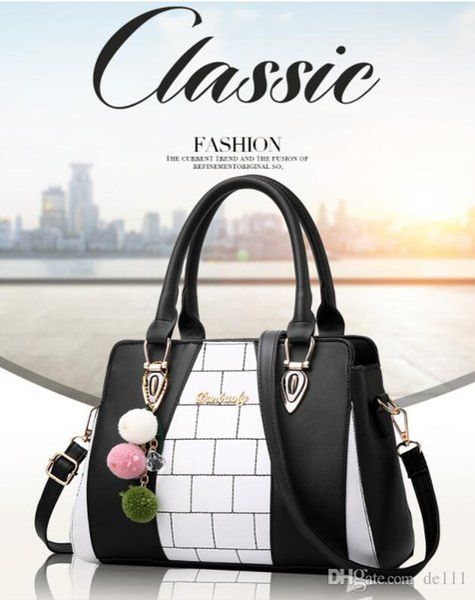 Bolsos para mujer de gran capacidad Bolsos de mano Manijas superiores Diseñador de moda de la marca 2019 bolsos de lujo femmes maleta equipaje maleta bolso Brown Peach