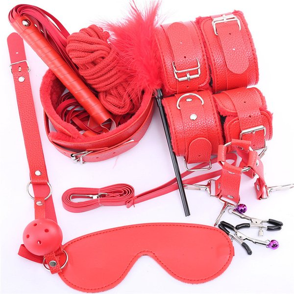 3leather 10pcs red