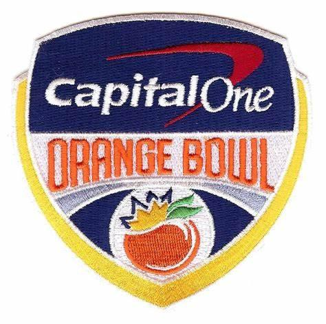 Add Orange Bowl Patch