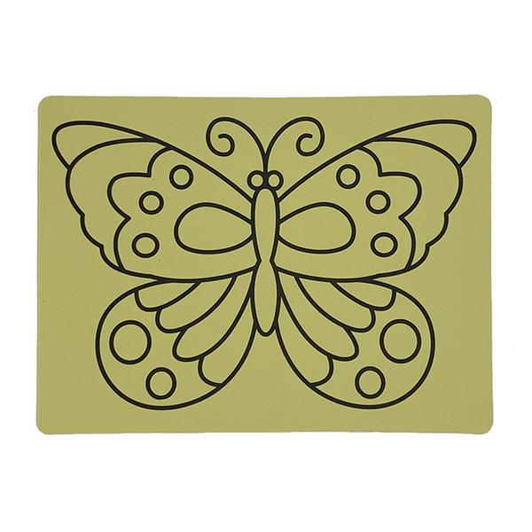Envío gratis 500 unids / lote tarjetas de etiqueta para Color Arena art_20x28cm magia arena arte pegatina tarjetas venta caliente