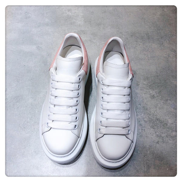 High-end designer women's shoes high quality men and women comfortable casual shoes luxury fashion couple small white shoes xxd19042605