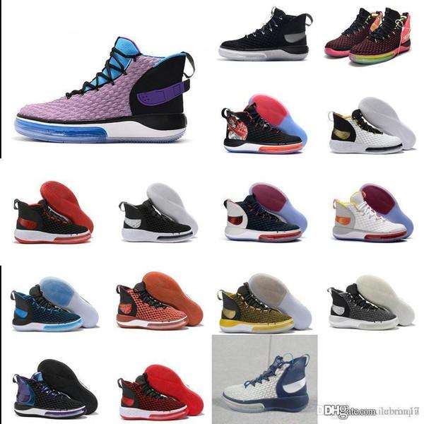 رجل رخيصة Alphadunk 2020 أحذية كرة السلة الأرجواني Huarache الزهور الألعاب النارية ليبرون جيمس جديد أحذية رياضية للتنس 17 hyperdunk مع مربع الحجم 7 12